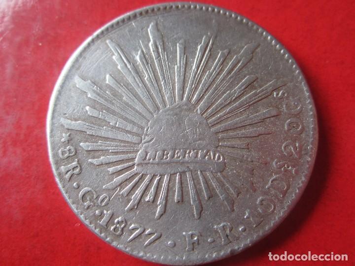 Mexico 8 Reales De Plata Acuñados En Guanajuat Comprar Monedas