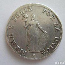 Monedas antiguas de América: PERU * 8 REALES 1826 JM LIMA * PLATA. Lote 116808123
