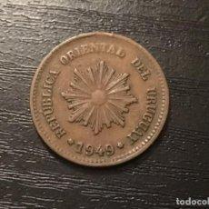 Monedas antiguas de América: MONEDA 2 CENTÉSIMOS URUGUAY 1949. Lote 116864387