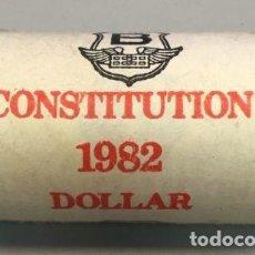 Monedas antiguas de América: CANADÁ - 1 DOLLAR 1982 - CONSTITUCIÓN DE LA CONFEDERACIÓN - PROOF - CAT. SCHOEN Nº 128 - DE CARTUCHO. Lote 118490763