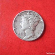 Monedas antiguas de América: ESTADOS UNIDOS. UN DIME. PLATA 1945. Lote 117662955