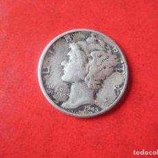 Monedas antiguas de América: ESTADOS UNIDOS. UN DIME. PLATA 1945. Lote 117663247