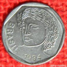 Monedas antiguas de América: BRASIL - 25 CENTAVOS - 1994. Lote 117818775