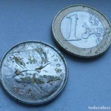 Monedas antiguas de América: MONEDA DE PLATA DE 25 CENTAVOS DE CANADA AÑO 1968 . Lote 117895471