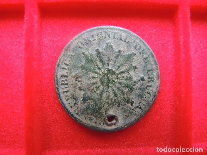 1 CENTÉSIMO, PARAGUAY, 18?? (1869) (Numismática - Extranjeras - América)