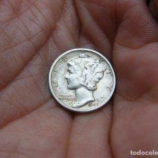 Monedas antiguas de América: ESTADOS UNIDOS 1 DIME 1945 -PLATA-. Lote 118092487