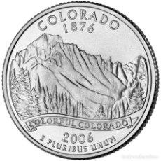 Monedas antiguas de América: ESTADOS UNIDOS - 1/4 DOLAR COLORADO 2006. Lote 136091457