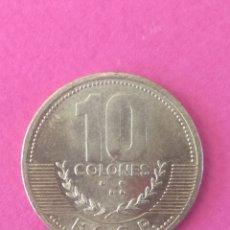 Monedas antiguas de América: COSTA RICA 10 COLONES. Lote 118361287