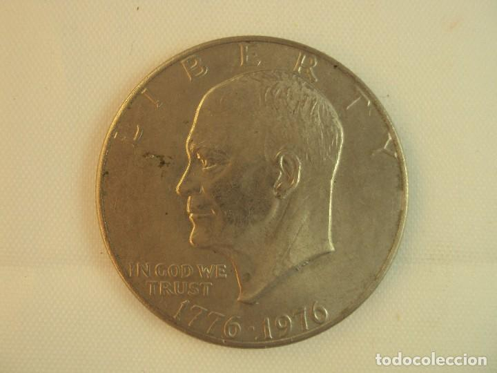 MONEDA USA COIN- LIBERTY 1776-1976 EISENHOWER , ONE DOLLAR (Numismática - Extranjeras - América)