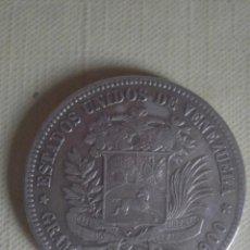 Monedas antiguas de América: VENEZUELA. 5 BOLÍVARES DE PLATA DE 1936. Y24.2. . Lote 118739063