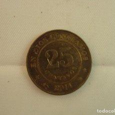 Monedas antiguas de América: NICARAGUA 25 CENTAVOS DE CORDOBA 1997,. Lote 118739691