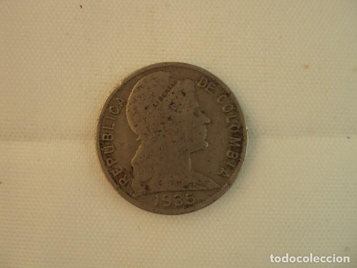 Monedas antiguas de América: MONEDA COLOMBIA, 10 CENTAVOS, 18 MM, 2 GR. PLATA DE LEY 800 ML 1911 - Foto 2 - 118740607