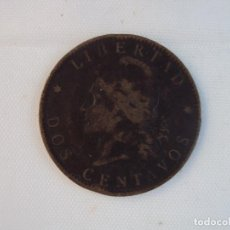 Monedas antiguas de América: ARGENTINA. 2 CENTAVOS. AÑO 1891. Lote 118852955