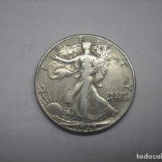Monedas antiguas de América: USA. 1/2 DOLAR DE PLATA DE 1942 WALKING LIBERTY.. Lote 119078123