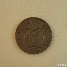 Monedas antiguas de América: ECUADOR 20 CENTAVOS 1966. Lote 119148779