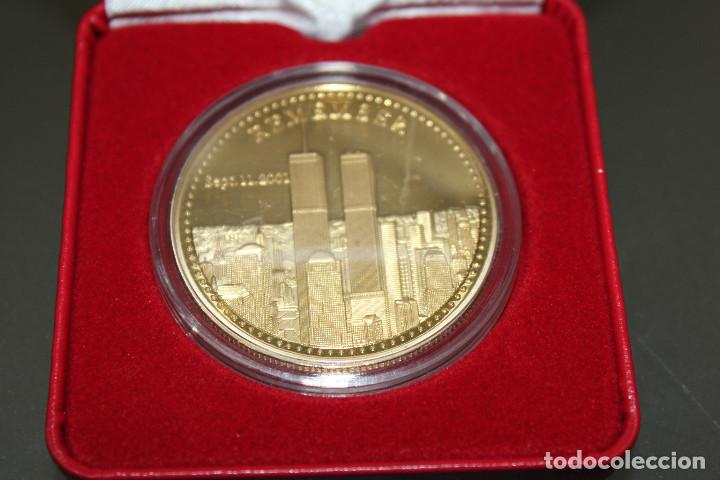 Monedas antiguas de América: 9.11 Monedas Conmemorativas EE. UU. Libertad- EN ESTUCHE DE LUJO - Foto 2 - 119244347