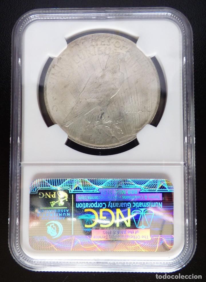 Monedas antiguas de América: USA 1 DOLAR TIPO PAZ 1923 NGC MS63 S/C - Foto 3 - 119437763