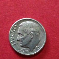 Monedas antiguas de América: ESTADOS UNIDOS. 1 DIME ROOSEVELT DE 1951. PLATA.. Lote 120121664