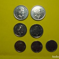 Monedas antiguas de América: LOTE 7 MONEDAS CANADA. OTAWA. ELIZABETH II. CASTOR. ARCE. VELERO. CENTS. VER FOTOGRAFIAS. Lote 120244659