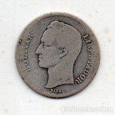 Monnaies anciennes d'Amérique: VENEZUELA. 1 BOLIVAR. AÑO 1929. PLATA.. Lote 121031367