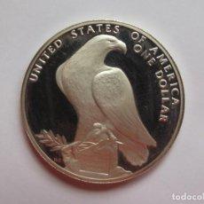 Monedas antiguas de América: DOLAR DE PLATA USA 1984 LOS ANGELES. Lote 146337468