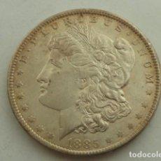 Monedas antiguas de América: MONEDA DE PLATA DE 1 DOLAR MORGAN DE 1885 O, ESTADOS UNIDOS CECA NUEVA ORLEANS, PESA 26,7 GRS. Lote 121055891