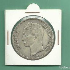 Monedas antiguas de América: PLATA-VENEZUELA 5 BOLIVARES 1935 25 GRAMOS. LEY 0,900 . Lote 121528531