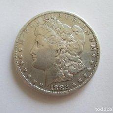 Monedas antiguas de América: ESTADOS UNIDOS * 1 DOLAR 1882 CC CARSON CITY * MORGAN * PLATA. Lote 121669383