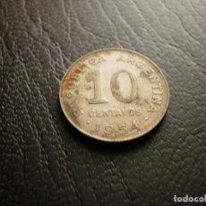 Monedas antiguas de América: ARGENTINA 10 CENTAVOS 1954. Lote 121927703