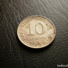 Monedas antiguas de América: ARGENTINA 10 CENTAVOS 1956. Lote 121927767
