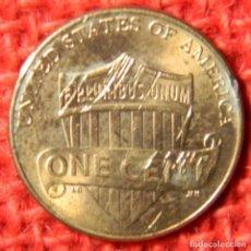 Monedas antiguas de América: USA - 1 CENT - 2012. Lote 122229671