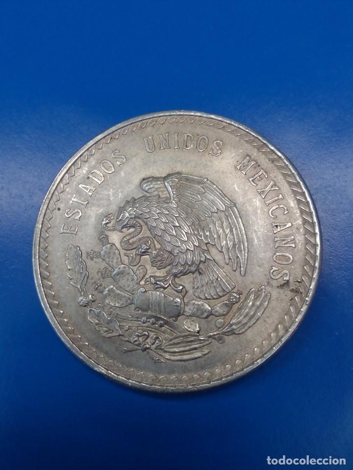 Monedas antiguas de América: Moneda de 5 pesos 1948 De México - Foto 2 - 122446903