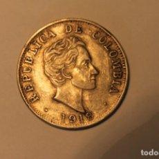 Monedas antiguas de América: MONEDA CINCUENTA CENTAVOS REPUBLICA DE COLOMBIA. Lote 122768475