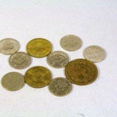 Monedas antiguas de América: LOTE 10 MONEDAS HONDURAS VER DESCRIPCION. Lote 123511775