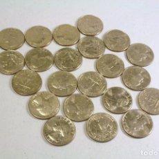Monedas antiguas de América: LOTE 22 MONEDAS USA - VER DESCRIPCION. Lote 123512063