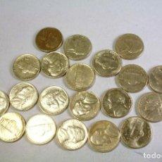 Monedas antiguas de América: LOTE DE 20 MONEDAS USA FIVE CENTS - VER DESCRIPCION. Lote 123525539