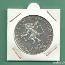 Monedas antiguas de América: PLATA-MÉXICO 25 PESOS 1968. OLIMPIADA. 22,5 GRAMOS DE LEY 0,720. Lote 142283200