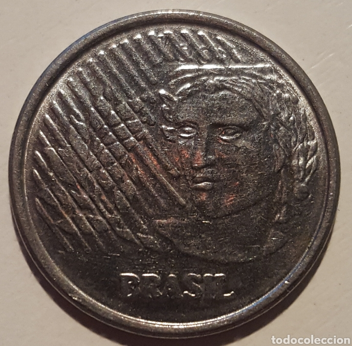 Monedas antiguas de América: BRASIL 50 CENTAVOS 1994 - Foto 2 - 124390560