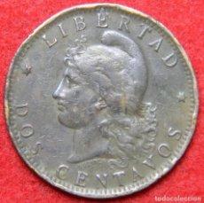 Monedas antiguas de América: ARGENTINA - 2 CENTAVOS - 1891 - KRAUSE KM# 33. Lote 125195507