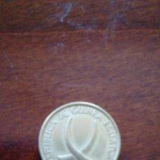 Monedas antiguas de América: 1 PESETA GUINEANA 1969. Lote 125276984