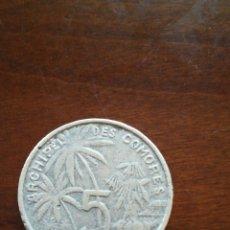 Monedas antiguas de América: MONEDA COMORES 1964. Lote 125279367
