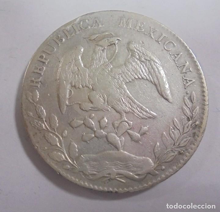 MONEDA. GUANAJUATO. MEXICO. 8 REALES. 1895. VER (Numismática - Extranjeras - América)