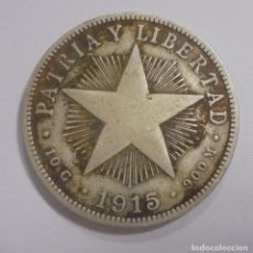 Monedas antiguas de América: MONEDA. REPUBLICA DE CUBA. 40 CENTAVOS. 1915. VER. Lote 125640639