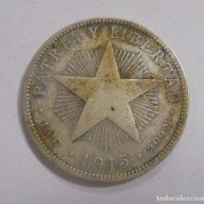 Monedas antiguas de América: MONEDA. REPUBLICA DE CUBA. 40 CENTAVOS. 1915. VER. Lote 125640731