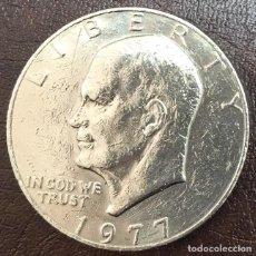 Monedas antiguas de América: USA - UNA MONEDA DE ONE (1) DOLLAR EISENHOWER - AÑO 1977 - KM.A203. Lote 125678939