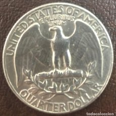 Monedas antiguas de América: USA - UNA MONEDA DE VEINTICINCO CENTAVOS (ONE QUARTER) - AÑO 1965 - KM.164A (BIEN CONSERVADA). Lote 125710119