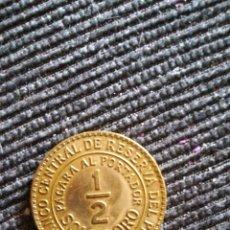 Monedas antiguas de América: MONEDA 1/2 SOL DE ORO. PERÚ. 1935. Lote 125938736