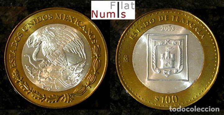 MEJICO - 100 PESOS - 2003 - TLAXCALA - NO CIRCULADA (Numismática - Extranjeras - América)