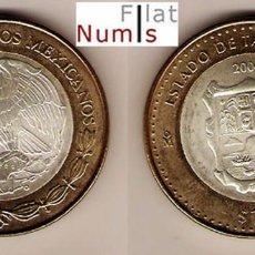 Monedas antiguas de América: MEJICO - 100 PESOS - 2004 - TAMAULIPAS - NO CIRCULADA. Lote 127858879