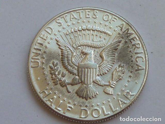 Monedas antiguas de América: Moneda de plata de 1/2 dolar de 1964 Kennedy CECA Filadelfia, Estados Unidos, EBC+ - Foto 2 - 127883975